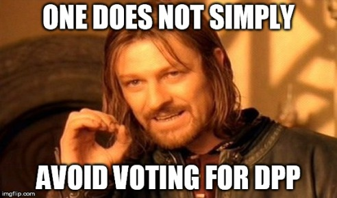 one does not simply avoid dpp