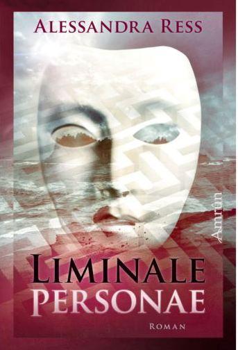 """Cover zu """"Liminale Personae"""", zeigt Maske und Insel"""