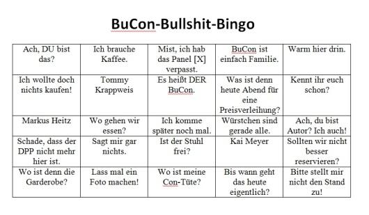 BuCon Bingo