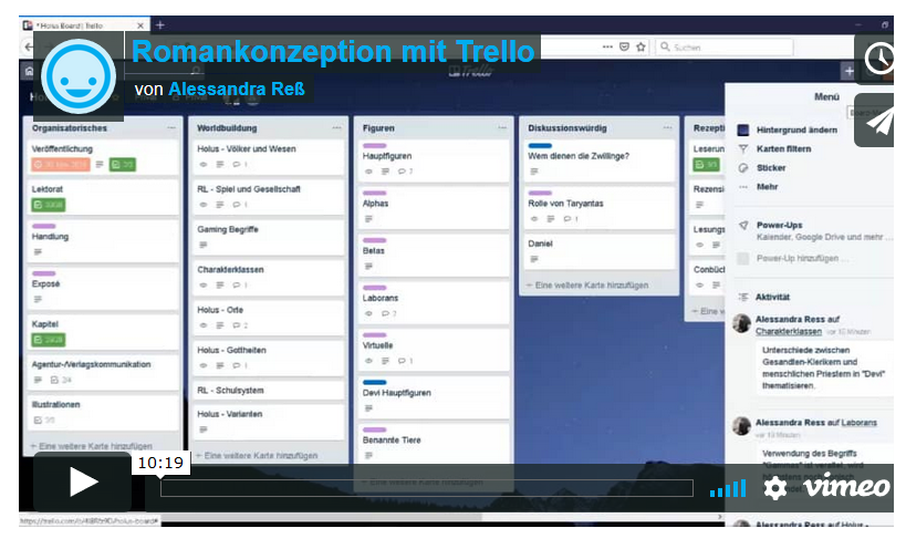 Vorschaubild Trello-Screencast