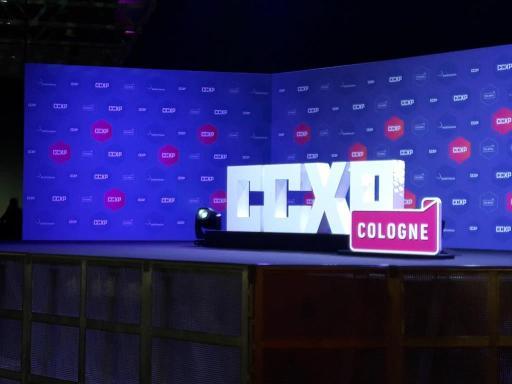 Schriftzug der CCXP Cologne