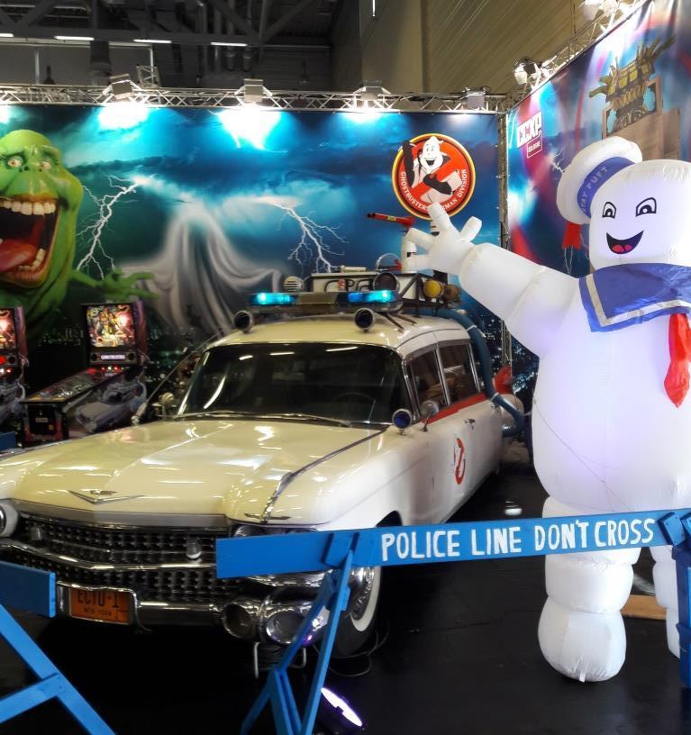 Figuren aus Ghostbusters