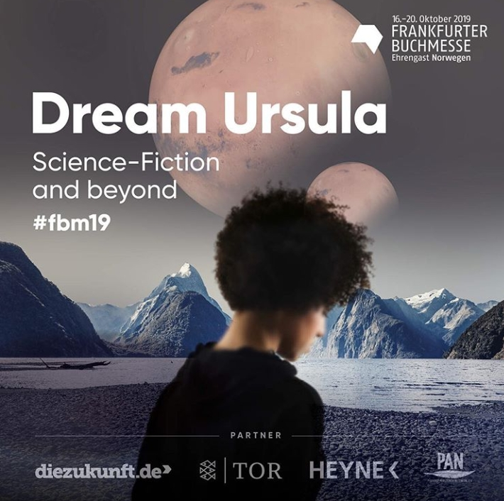 "Werbeplakat von ""Dream Ursula - Science-Fiction and beyond"""