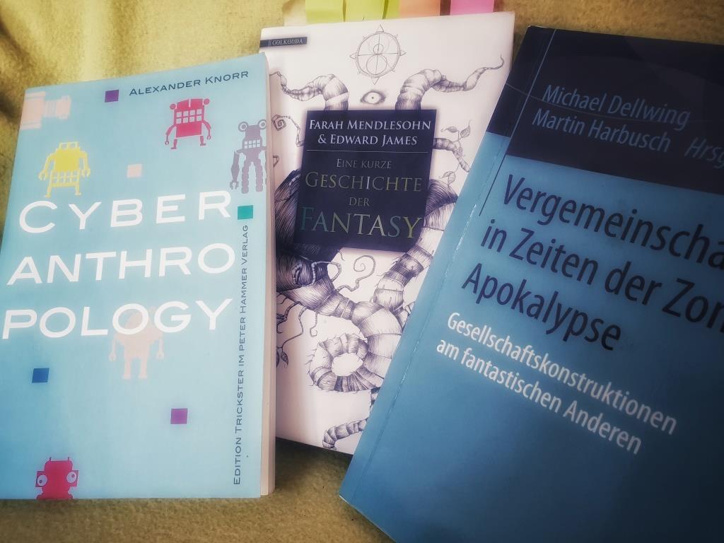 drei Buchcover