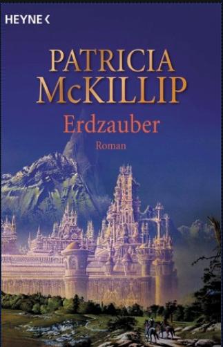 """Cover zu """"Erdzauber"""" mit großem Schloss und Reiterschar in Hügellandschaft"""